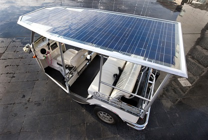 Solar powered tuc tuc as an example for sustainable entrepreneurship